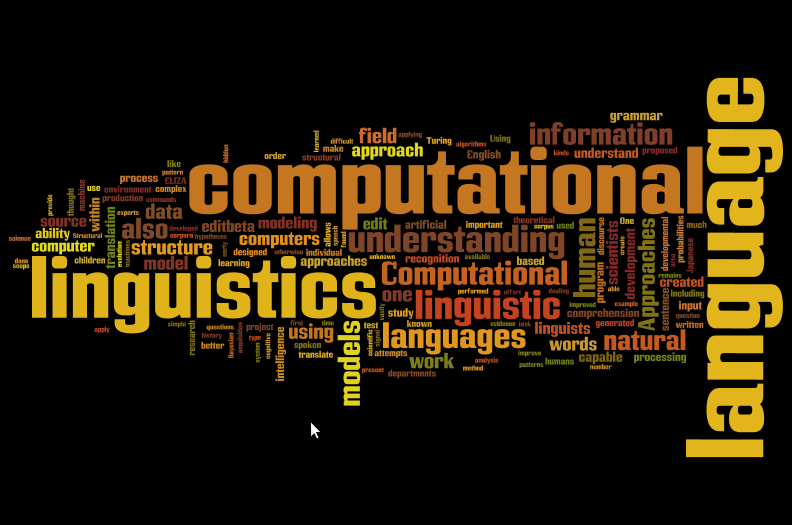 Computational Lingustics